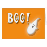 Halloween Party Invitation Boo! Kids Greeting Cards