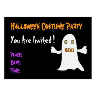 Halloween party - Invitation Business Card Templates