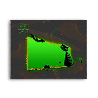 Halloween Party Invitation Envelope A-2 Size