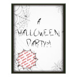 HALLOWEEN PARTY INVITATION FULL COLOR FLYER