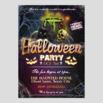 Halloween Party Invitation Fully Customizable