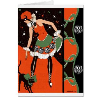 Halloween Party Invitations - Art Deco