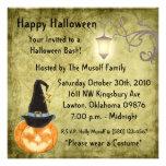 halloween party invitations spooky pumpkin  fun