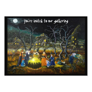 "Halloween party invitations ""The Lesson"""