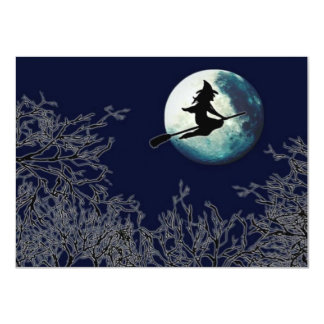 Halloween Party Invitations Witch