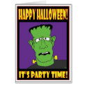 HALLOWEEN PARTY INVITE CARD card