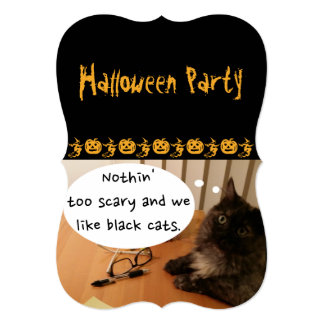 Halloween Party Invite (Friendly) by RoseWrites