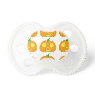 halloween party jackolantern cartoon print 2013 baby pacifiers