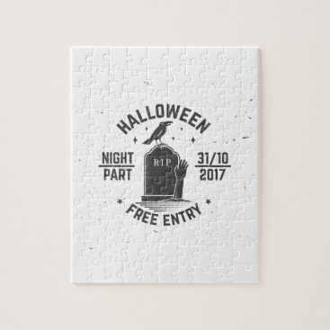 Halloween Themed Halloween-party Jigsaw Puzzle