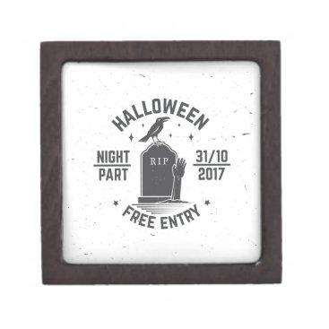 Halloween Themed Halloween-party Keepsake Box