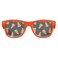 Halloween Party Kids Candy Corn Kids Sunglasses at Zazzle