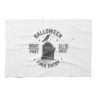 Halloween Themed Halloween-party Kitchen Towel