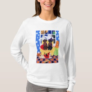 Halloween Party Labradors! T-Shirt