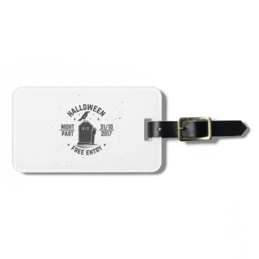 Halloween Themed Halloween-party Luggage Tag