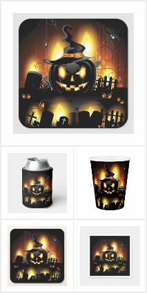 Halloween Party Paper Goods 1