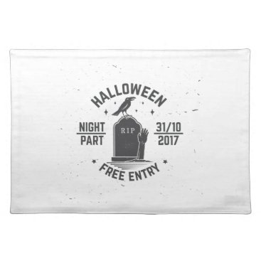 Halloween Themed Halloween-party Placemat