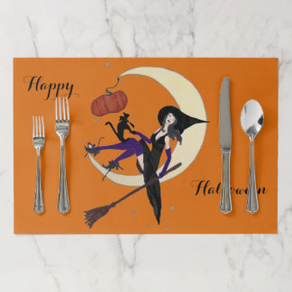Halloween Party placemat1 Paper Placemat