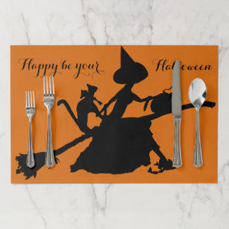 Halloween Party placemat2 Paper Placemat