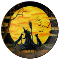 Halloween party plate