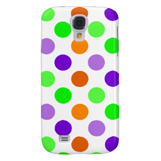 Halloween Party Polka Dots Galaxy S4 Cover