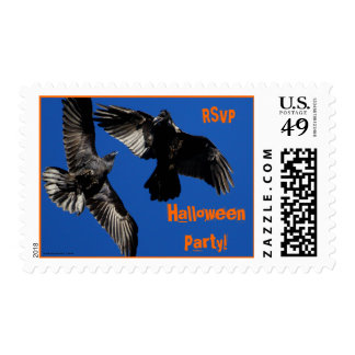 Halloween Party Postage