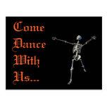 Halloween Party Postcard Invitation