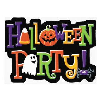 Halloween Party Prep Series Custom Invites