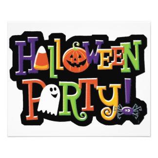 Halloween Party Prep Series Flyer