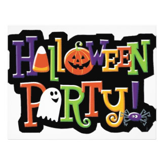 Halloween Party Prep Series Flyer Design