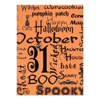 Halloween Party Prep Series Invitation