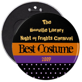 Halloween Party Prize Button