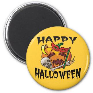 Halloween Party Pumpkin Magnet