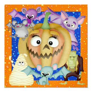 Halloween Party  - SRF Card