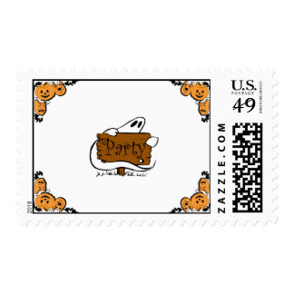 """""""Halloween Party"""" stamp"""