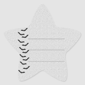 Halloween Party! Star Sticker