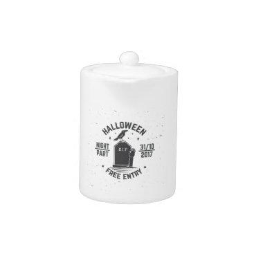 Halloween Themed Halloween-party Teapot