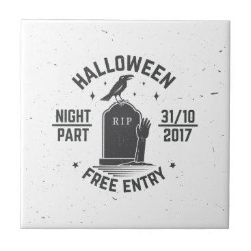 Halloween Themed Halloween-party Tile
