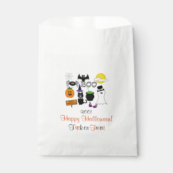 Halloween | Party Treats, Favors Bags