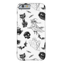 Halloween pattern design barely there iPhone 6 case