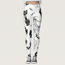 Halloween pattern design leggings