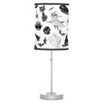 Halloween pattern design table lamp