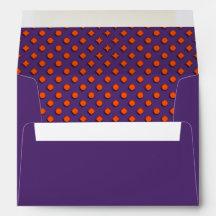 Halloween Pattern Envelopes