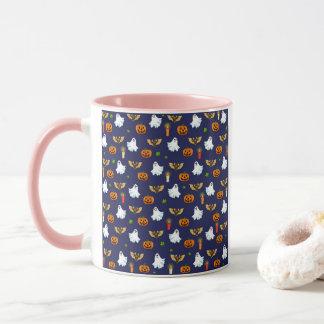 Halloween pattern mug