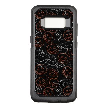 Halloween Themed Halloween Pattern OtterBox Commuter Samsung Galaxy S8 Case