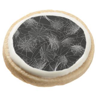 Halloween Pattern Round Shortbread Cookie