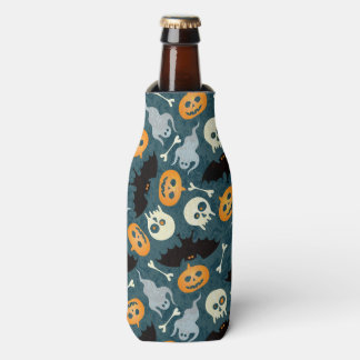 Halloween pattern bottle cooler