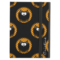 halloween pattern with owls  in hollows cover for iPad air