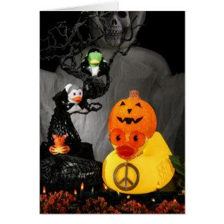 Halloween Peace Ducky Cards