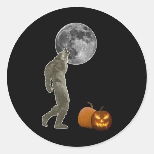 Halloween Pegatina Redonda