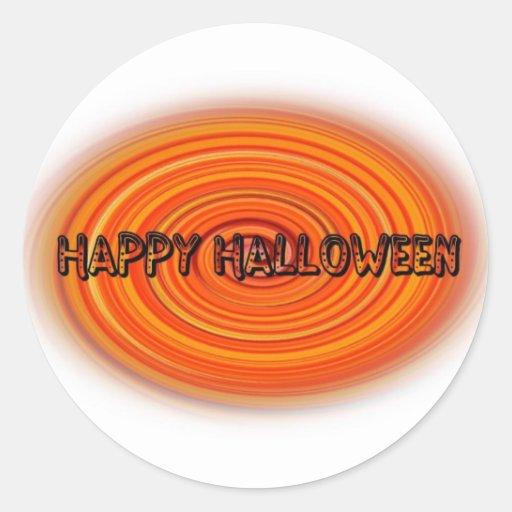 Halloween Pegatinas Redondas